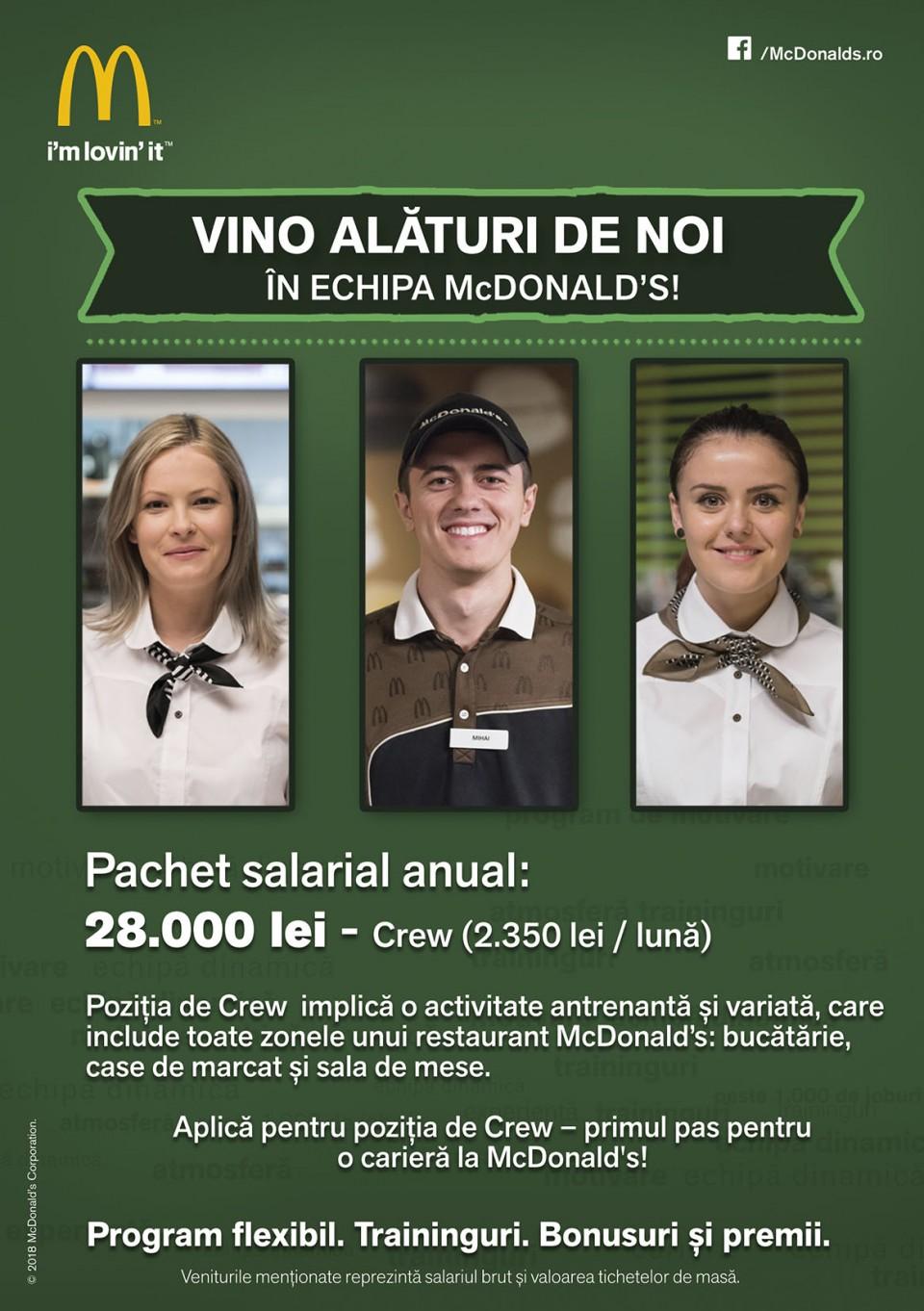 Crew McDonald's
