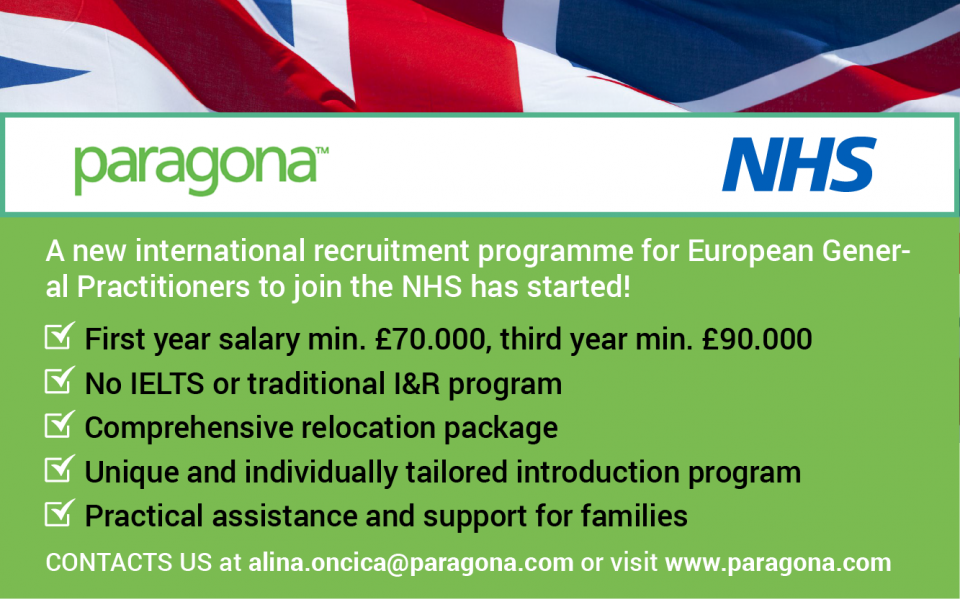 Join the NHS England! No IELTS required!
