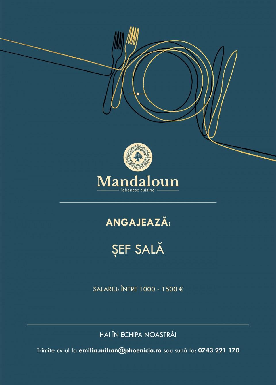 Sef Sala - Restaurant Mandaloun