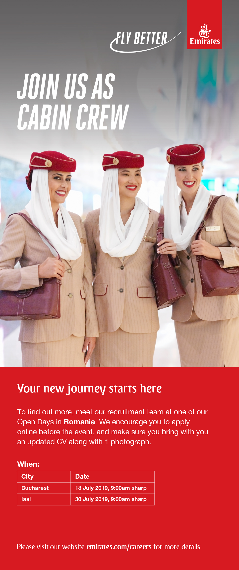 Your new journey starts here