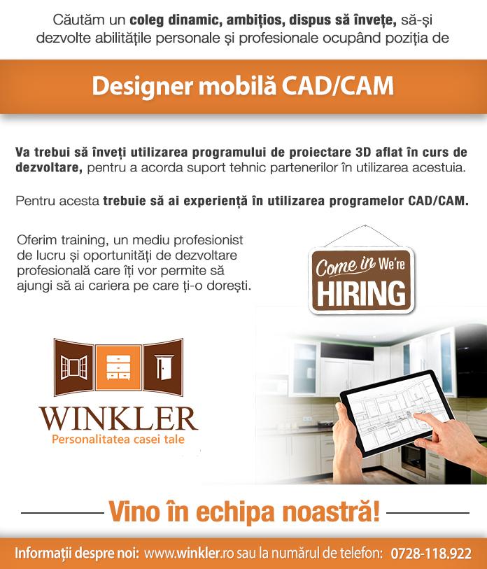 Designer Mobila CAD CAM