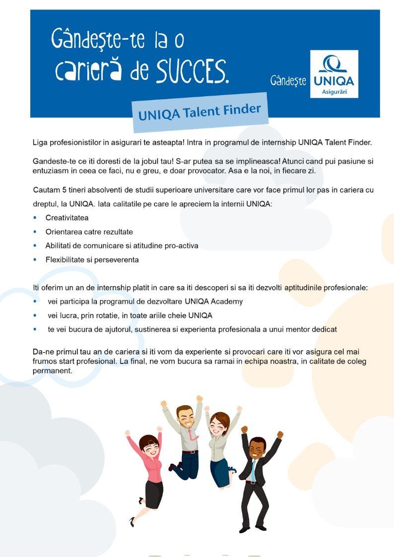 UNIQA Asigurari a devenit cea mai noua membra a UNIQA Group Austria, odata cu preluarea la finele anului 2008 a companiei UNITA, prima companie cu capital privat din Romania. UNIQA Asigurari se situeaza printre liderii pietei de asigurari generale din Romania, are in prezent aproximativ 1100 de angajati in 46 de sucursale si 101 de agentii si furnizeaza servicii pentru mai mult de 550.000 de clienti. Obiectivul UNIQA Asigurari este de a creste in mod sustinut, constant si puternic pe piata de asigurari locala, Romania reprezentand o piata foarte importanta pentru strategia UNIQA Group Austria in regiune.UNIQA Group Austria este unul dintre cele mai dinamice si profitabile grupuri de asigurari din Centrul si Sud Estul Europei, lider al pietei austriece si jucator important pe toate cele 20 de piete in care are activitate, având aproximativ 17.500 angajati, 5,7 milioane clienti si aproape 13 milioane polite în 20 de piete regionale.www.uniqa.ro