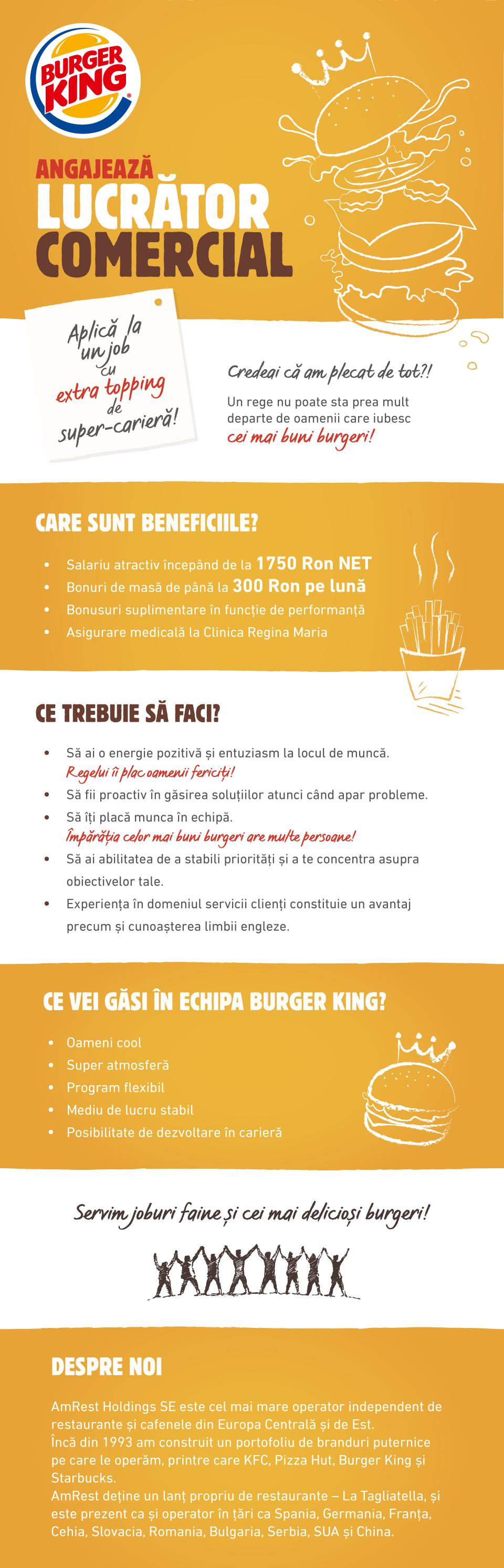 Burger King Lucrator Comercial