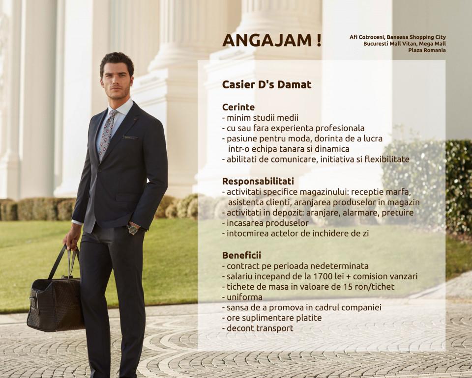 D'S Damat, brandul deținut de compania turcă Orka Group, a devenit, în doar patru ani de la intrarea pe piața românească, lider pe segmentul de vestimentație masculină, deținând în prezent zece magazine în cele mai mari centre comerciale din România.Încă din anul 2010, D'S Damat s-a remarcat prin cel mai bun raport calitate-preț al produselor vestimentare, devenind una din principalele opțiuni pentru consumatorii din România în ceea ce privește achiziționarea hainelor de ceremonie, de tip business sau casual.Brandul deținut de Orka Group a reușit în ultimii ani, să schimbe în mod pozitiv percepția publicului român despre produsele confecționate în Turcia, prin ofertă diversificată, design și calitate a materialelor, în mare parte realizate în Italia, comparabile cu cele ale marilor branduri vestimentare internaționale.D'S Damat a devenit un etalon pentru bărbații care acordă o deosebită atenție imaginii lor și ținutei vestimentare pe care o poartă.Consumatori din diverse sfere de activitate, inclusiv persoane publice, poartă haine D'S Damat la serviciu, la întâlnirile de afaceri, la recepții, în călătorii sau la evenimentele de tip ceremonie.Printre persoanele publice din România care poartă vestimentațiile brandului se numără prezentatori de știri, prezentatori de emisiuni de divertisment, actori și artiști.În 2015, D'S Damat continuă strategia cu care a debutat pe piața din România, plănuind deschiderea unor noi magazine în locații premium, precum cele mai vizitate mall-uri din țară. Magazinele din România sunt aprovizionate cu aceleași colecții precum magazinele din alte țări,. Colecțiile și conceptele magazinelor din România respectă aceleași standarde precum cele din țările unde brandul turcesc este prezent.