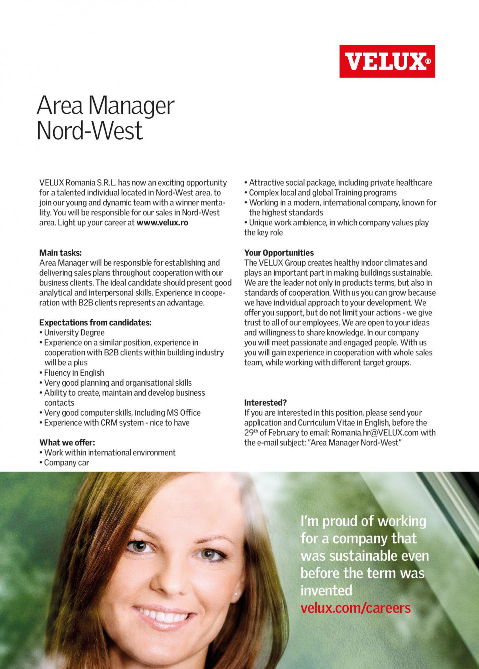 Area Manager Nord-West