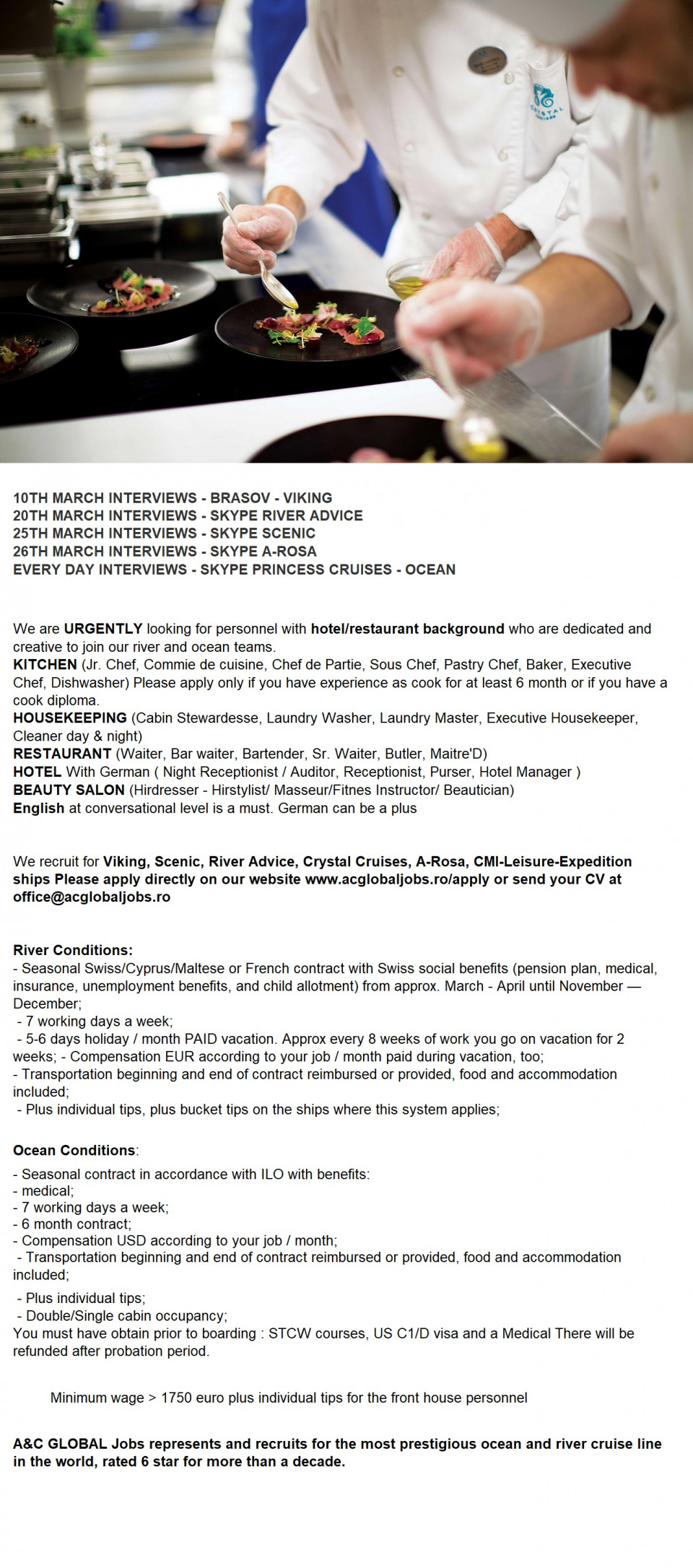 10TH MARCH INTERVIEWS - BRASOV - VIKING
