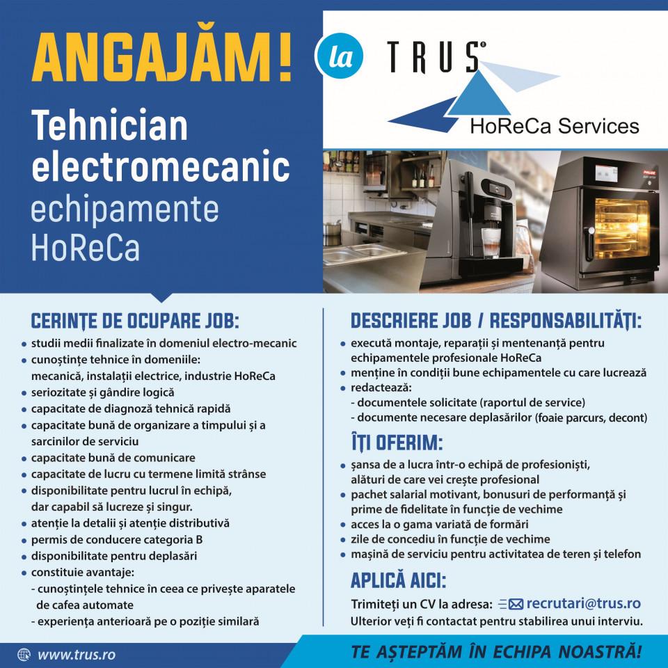 Tehnician electromecanic