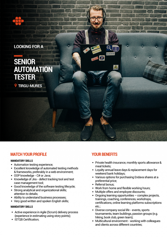 Senior Automation Tester