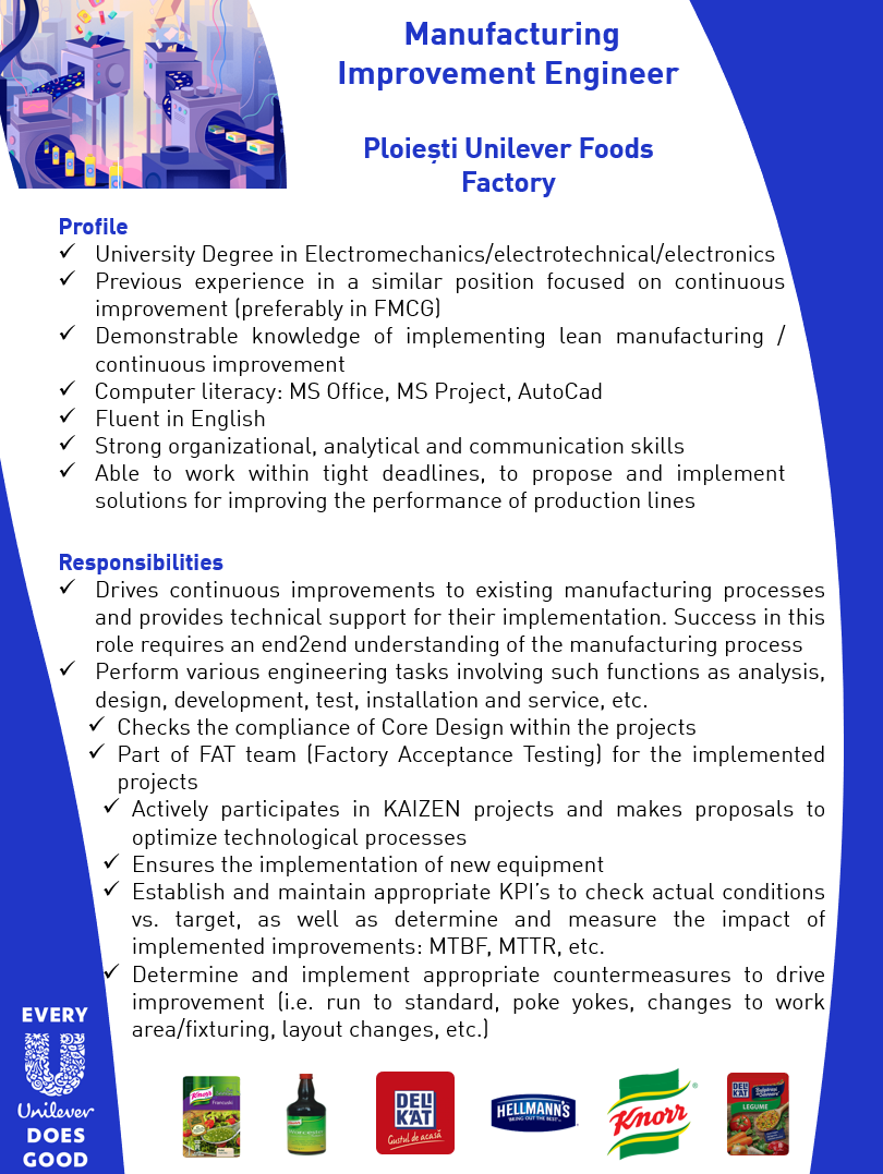 University Degree in Electromechanics/electrotechnical/electronics