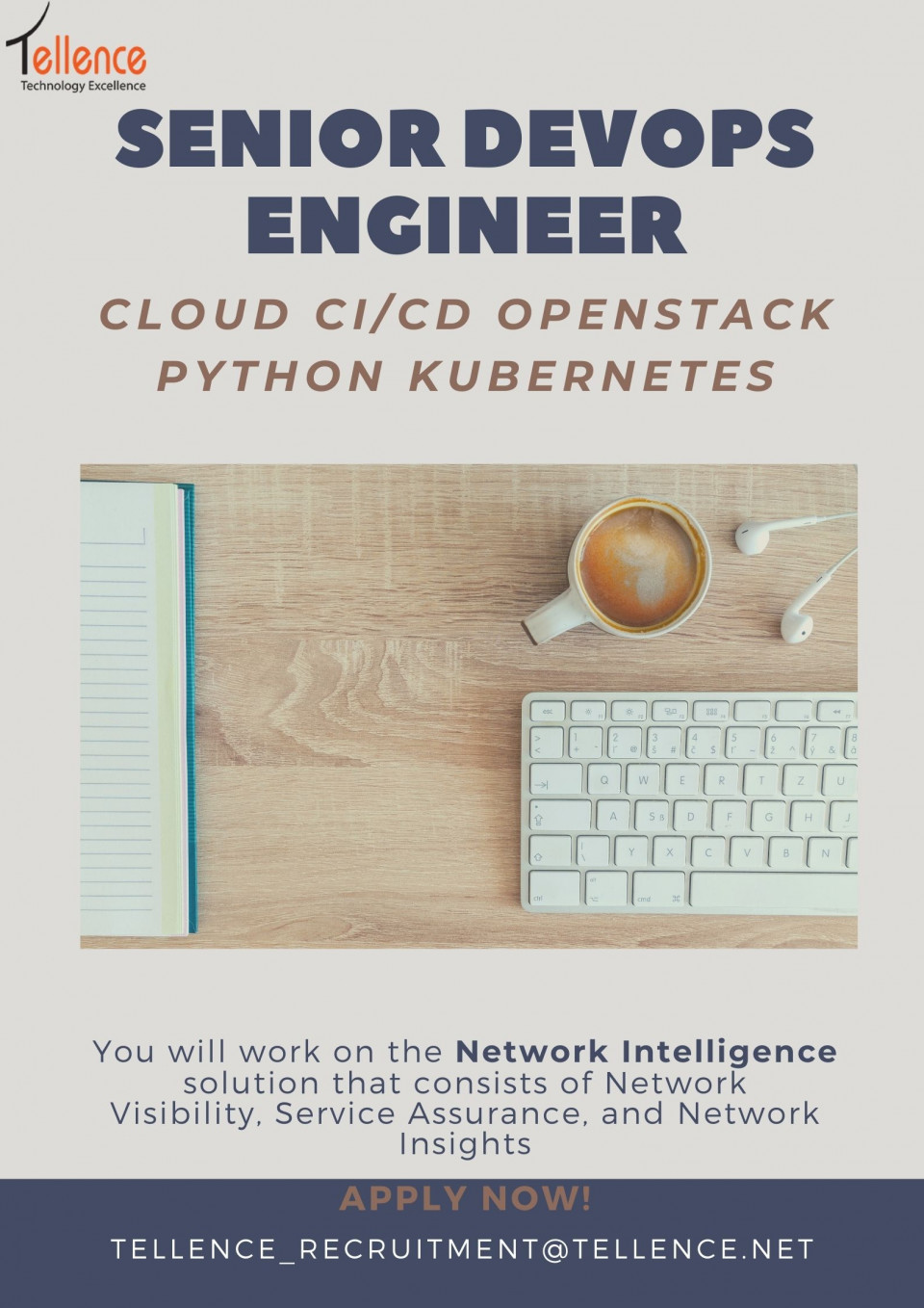 WE are looking for experienced DevOps Engineerts to join our team.