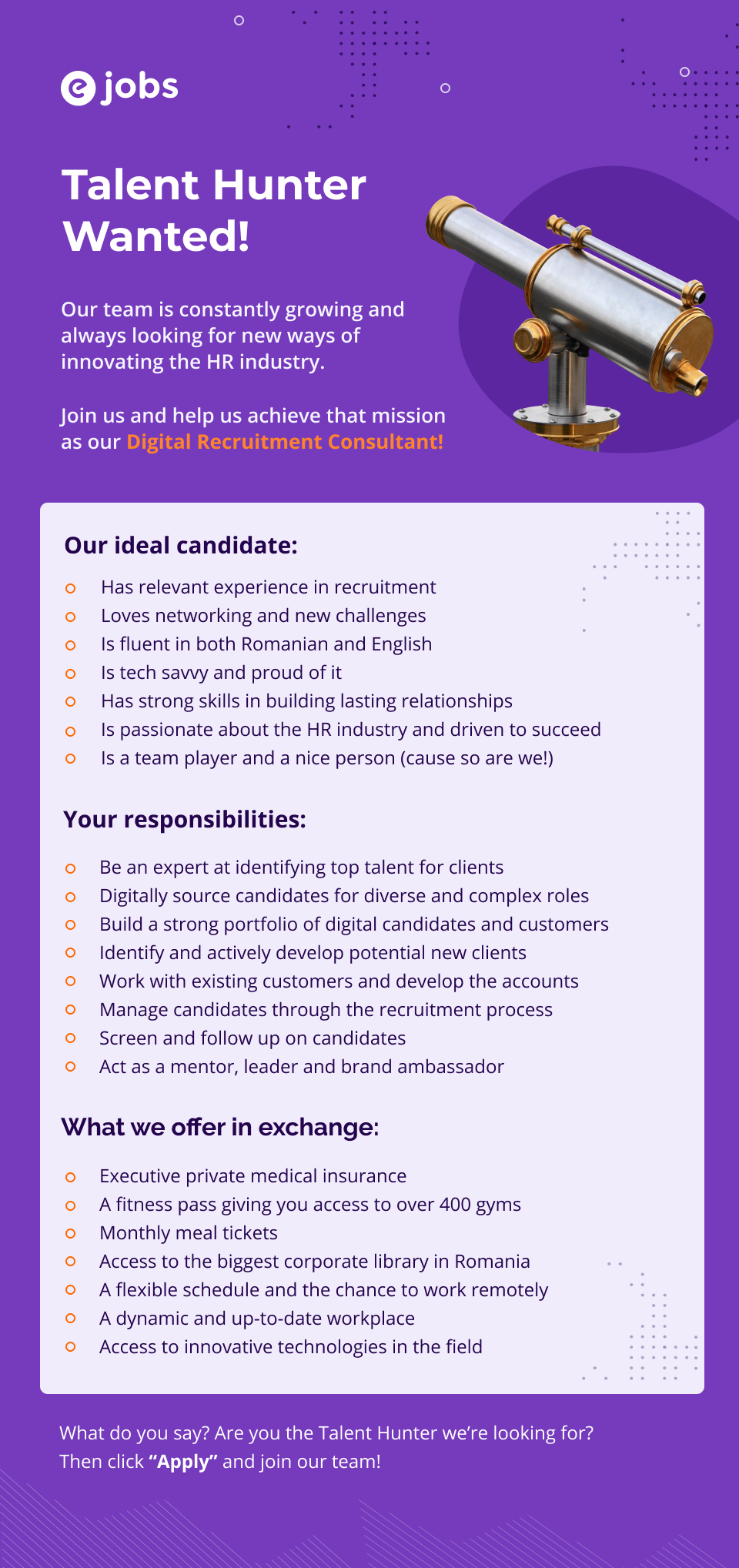 Digital Recruitment Consultant