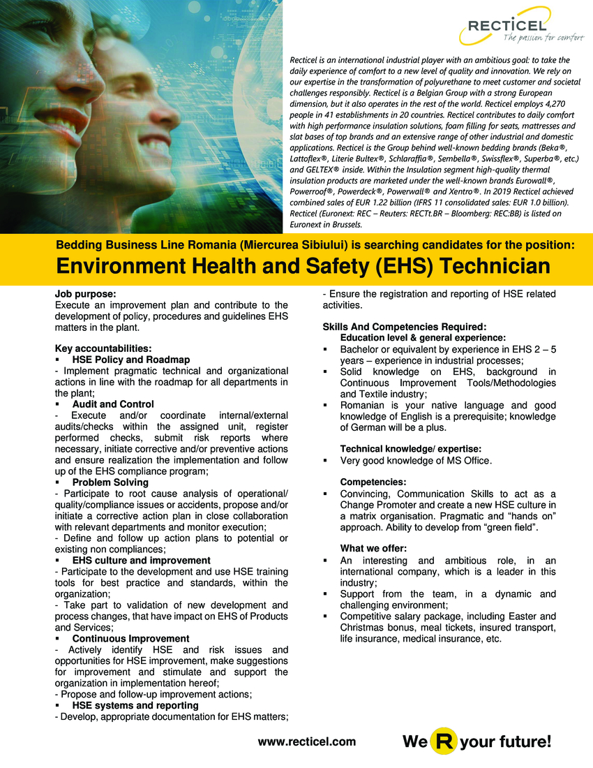 Job purpose: