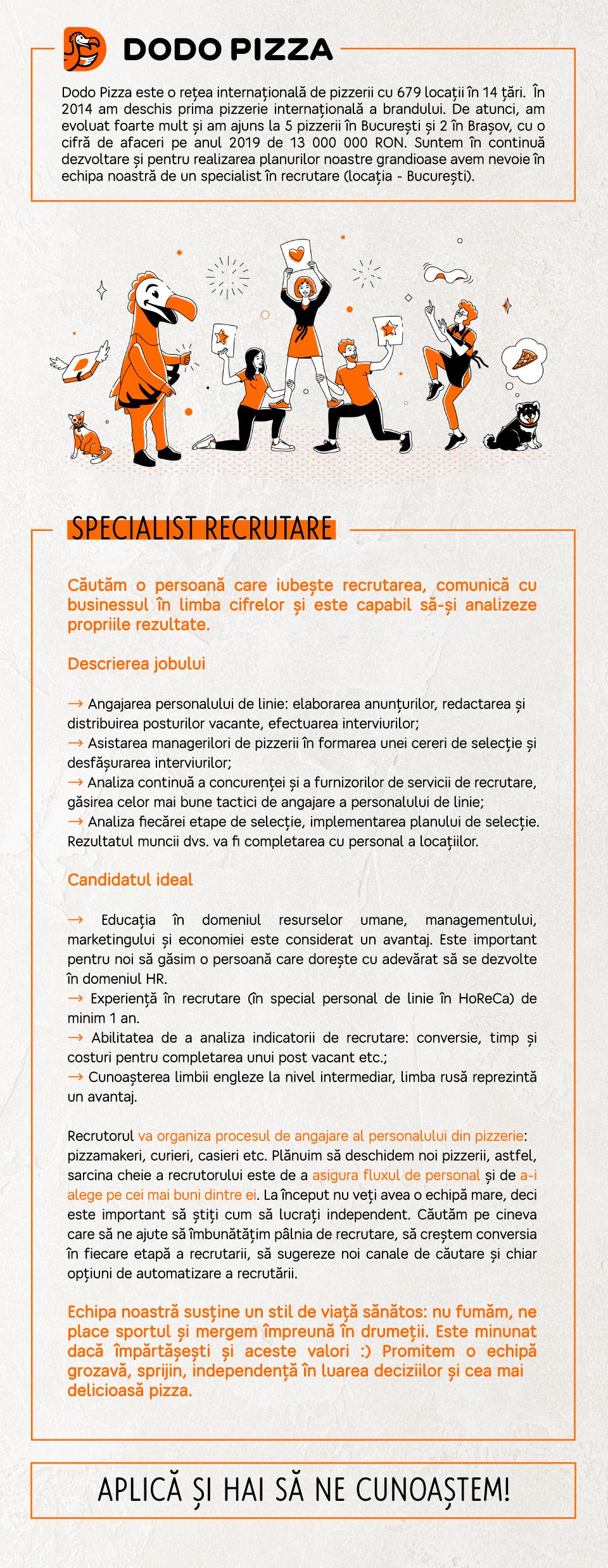 Specialist Recrutare