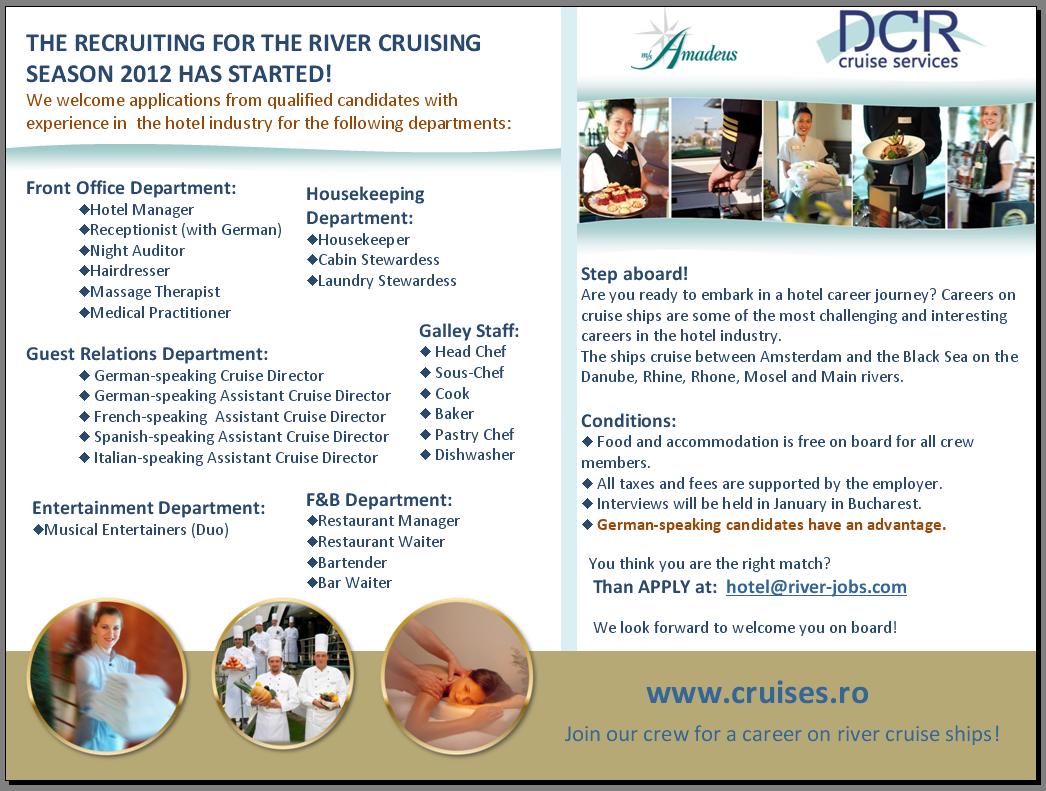 River Cruise Staff