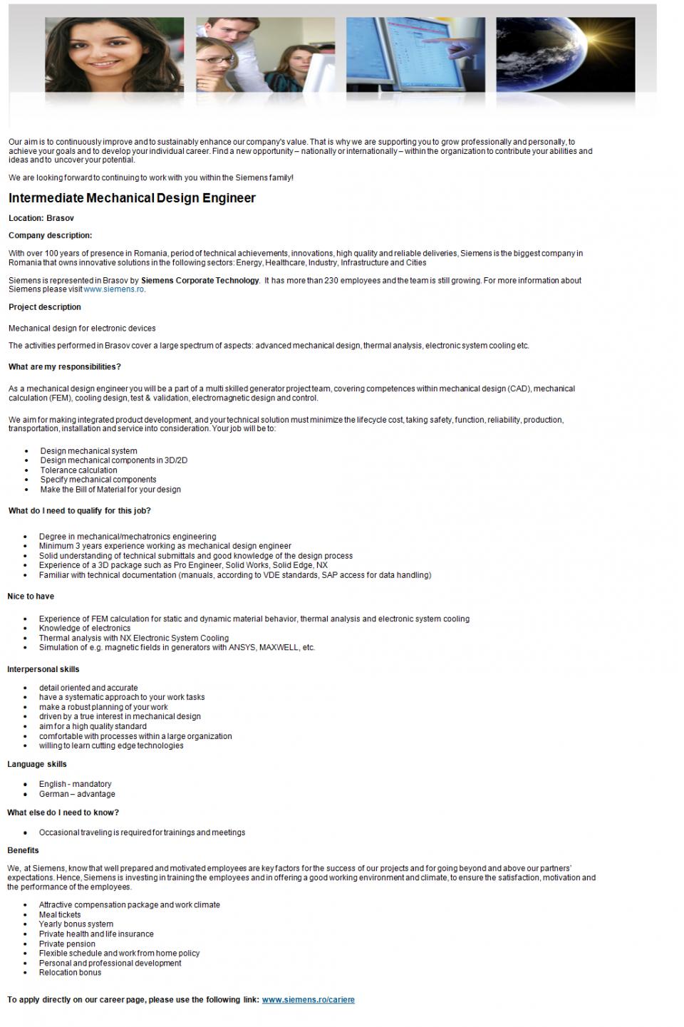Intermediate Mechanical Design Engineer