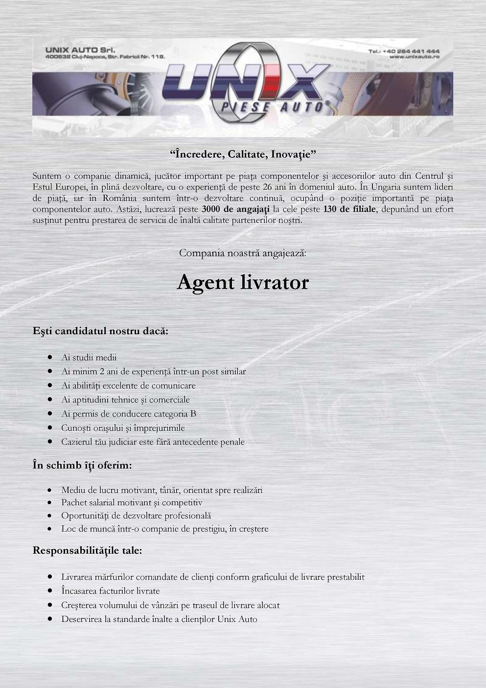 Agent Livrator