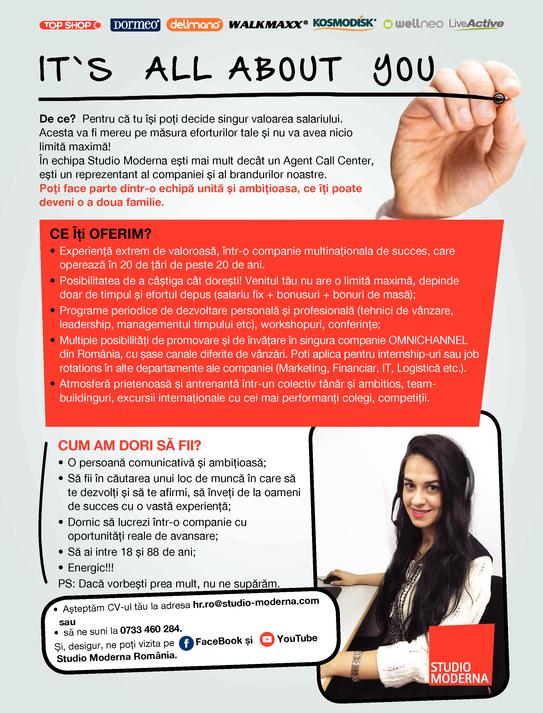 Agent Call Center Ploiesti, Bucuresti, Targu Mures
