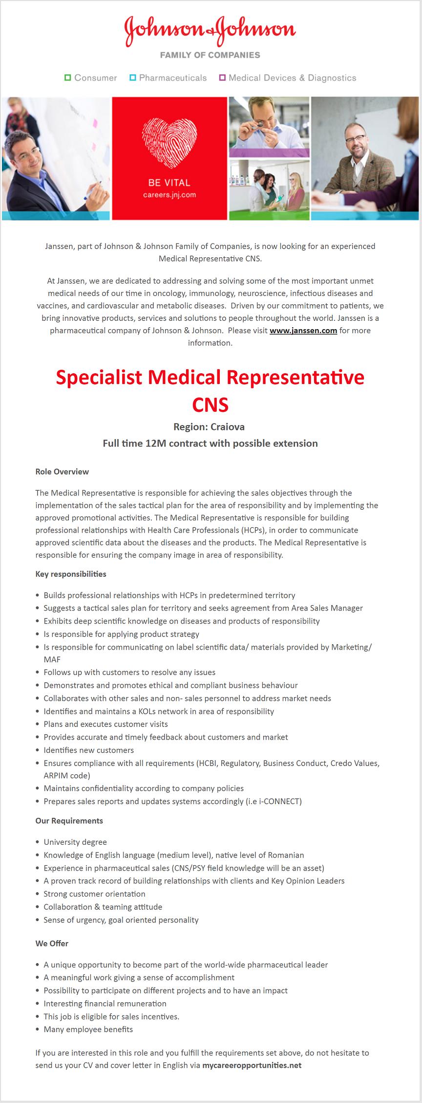 how to become a medical representative