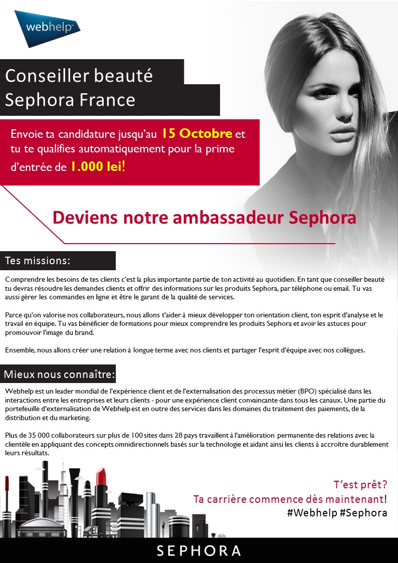 Conseiller Beauté Sephora France