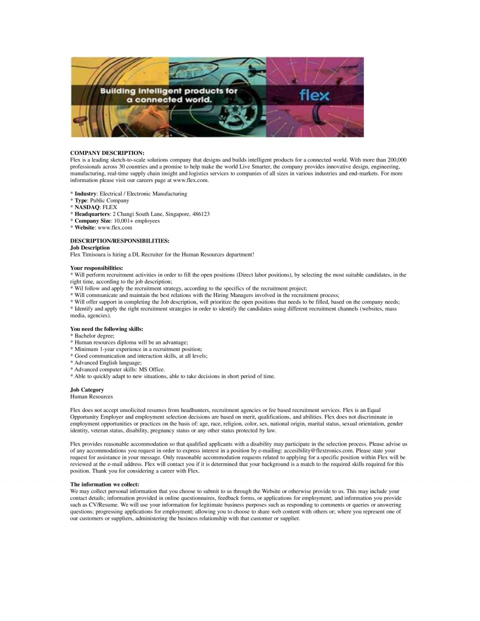 Recruiter - WD041316