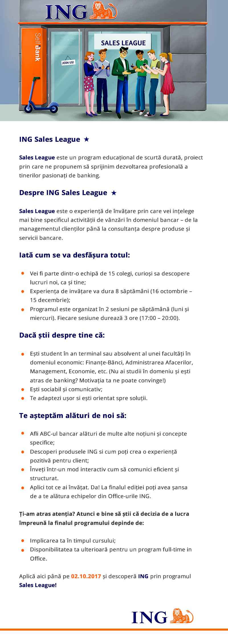ING Sales League Trainee